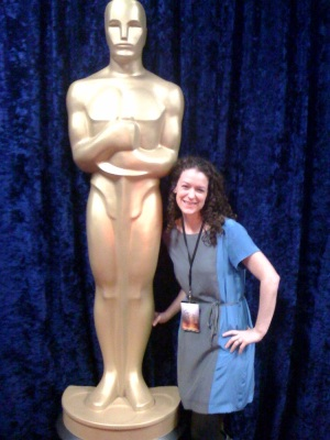 The closest I'll get to an Oscar...